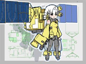 温室効果ガス観測技術衛星「いぶき」 teardrop Public Affairs Dep. より